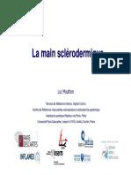 La Main Sclerodermique Alger Jan2014
