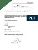 Série 2 Création de processus (fork) Sous Linux
