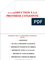 PROTHESE CONJOINTE