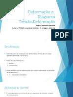 APRESENTAÇÃO 2- Deformação e diagrama tensao.deformação
