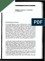 Sapelli G. - Organizzazione scientifica - Quaderni Soc 1976