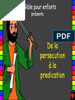 23 de la persécution à la prédication