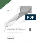 Manual LG FA162N