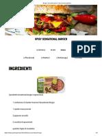 Burger _piccante-tarian_ _ Gourmet da giardino