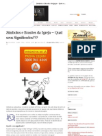Símbolos e Brasões da Igreja – Qual seus Significados___ « Repórter de Cristo