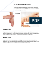 Acupressure Points for Numbness in Hands - TCM Simple