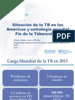 01_Situación TB las Américas y Estrategia Fin de la TB may15