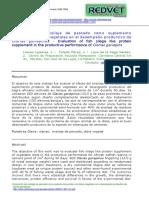 Evaluación del ensilaje de pescado como suplemento proteico de dietas vegetales en el desempeño productivo de clarias gariepinus.pdf