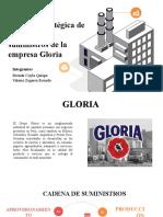 Gestión de la cadena de suministro de la empresa Gloria