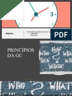 princípios e processo da GC