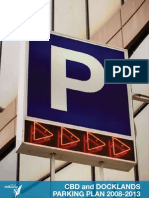 CBD and Docklands Parking Plan 2008-2013