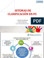 SISTEMAS CLASIFICACION PC