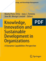 2019 - Knowledge Innovation and Sustainable Development Organizations