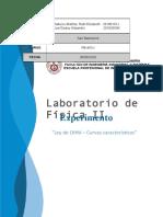 FÍSICA II - Informe de Laboratorio N°2-