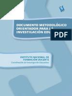 Documento metodológico Orientador para la Investigación Educativa.pdf