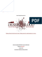 Desert Blood - Game Design Document