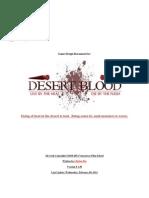 Desert Blood - Game Design Document