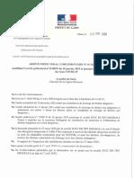 Arrêté 20-126 DREAL SUEZ-dérogation-covid 19