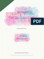 PARTE 2 GAROTAS - MEU PRIMEIRO PLANNER DEVOCIONAL