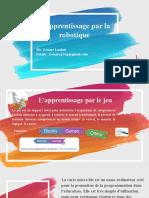 Programmation et robotique - Finale.pptx