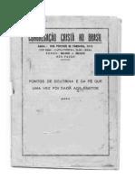 Congregação Cristã do Brasil Pontos da Doutrina