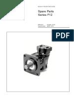 parker F12 series motr parts catalogue