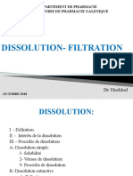 7- Dissolution - Filtration
