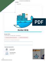 Test Docker MCQ & Quiz en ligne 2020 2020 - En ligne .._