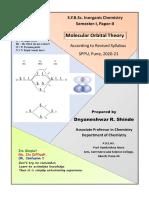 1. Molecular Orbital Therory-Diatomic Molecules