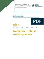 Eje 1 Formacion Cultural Contemporanea