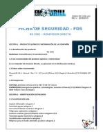 FDS ROMPEDOR DIRECTO RD 2501 - REV.4 22-08-18