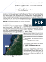 8-32 Design and Settlement Monitoring of Embankment on Soft Ground in Southwest Sabah