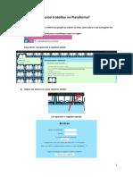 Como trabalhar na Plataforma - PME