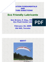 STLE Eco Friendly Lubes