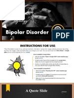 009 Bipolar Disorder PPT Presentation Template and Google Slides Theme For Free