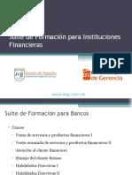 Presentacion Cursos Suite financiera ventas calidad cliente furioso EEG V2 08-2012