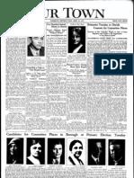 Our Town April 22, 1932