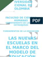 """El modelo pedagógico del Siglo (Desarrollo para la MODERNIDAD)- -""""Escuelas Activas""""- -"""