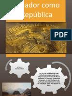 Ecuador Como República