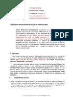 demanda-compuesta-nulidad-de-acto-juridico por causales de simulacion absoluta