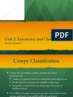 Unit 2-Taxonomy