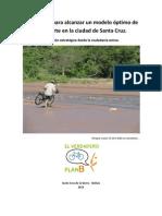 Propuestas para alcanzar un modelo óptimo de transporte en la ciudad de Santa CruzCAP(I)