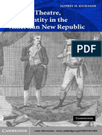 Jeffrey H. Richards - Drama, Theatre, And Identity