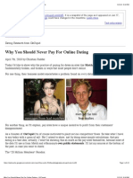 Why You Should Never Pay For Online Dating « OkTrends