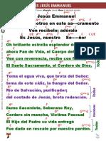 ES JESUS EMMANUEL
