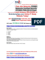 [November-2019]Braindump2go New PCNSE VCE and PCNSE PDF Dumps Free Share