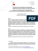 2018 - ARTIGO - UMA PROPOSTA PARA UNIFICAÇÃO DAS CLASSIFICAÇÕES CONTEMPORÂNEAS DOS LIVROS ILUSTRADOS DA LITERATURA INFANTIL