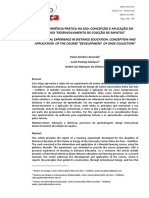 2017-ISSN-21797374 UMA EXPERIÊNCIA PRÁTICA NA EAD CONCEPÇÃO E APLICAÇÃO DO CURSO DESENVOLVIMENTO DE COLEÇÃO DE SAPATOS