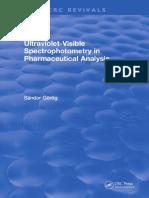 Sandor Gorog --- Ultraviolet-Visible Spectrophotometry in Pharmaceutical Analysis-CRC Press (1995).pdf