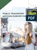 PUBLIC TRANSPORT - MOVING EUROPE FORWARD